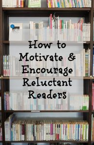 Tips to Motivate Reluctant Readers