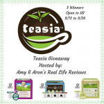 Teasia Giveaway – Ends 9/26