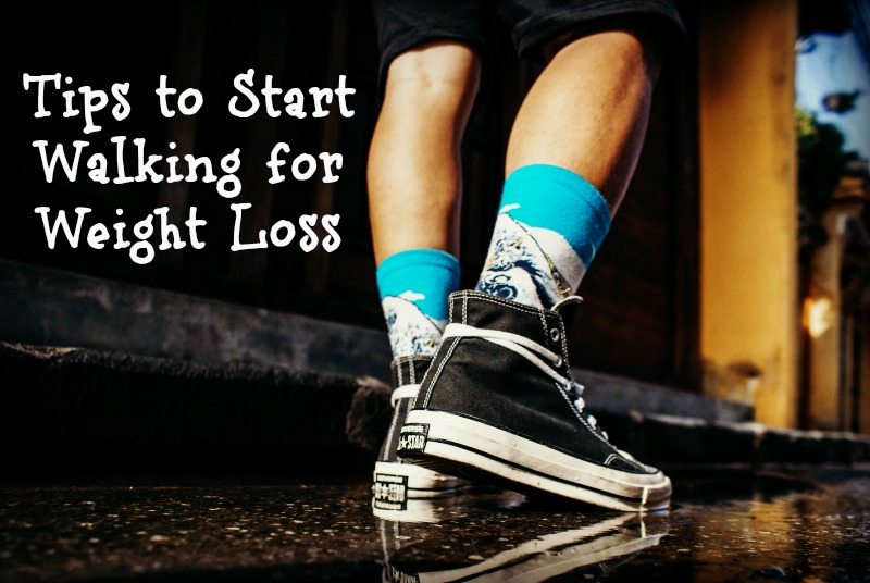 Lose the weight and get off the couch with our simple steps to start walking for weight loss. #WeightLoss #StartWalking
