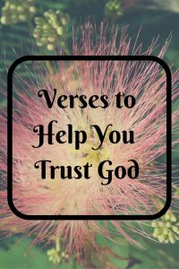verses about trusting God