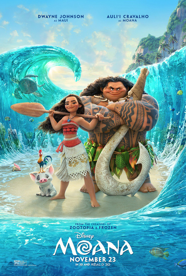 Moana Official Movie Poster