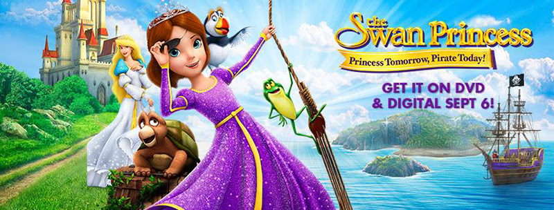 The Princess Swan on DVD 9/6