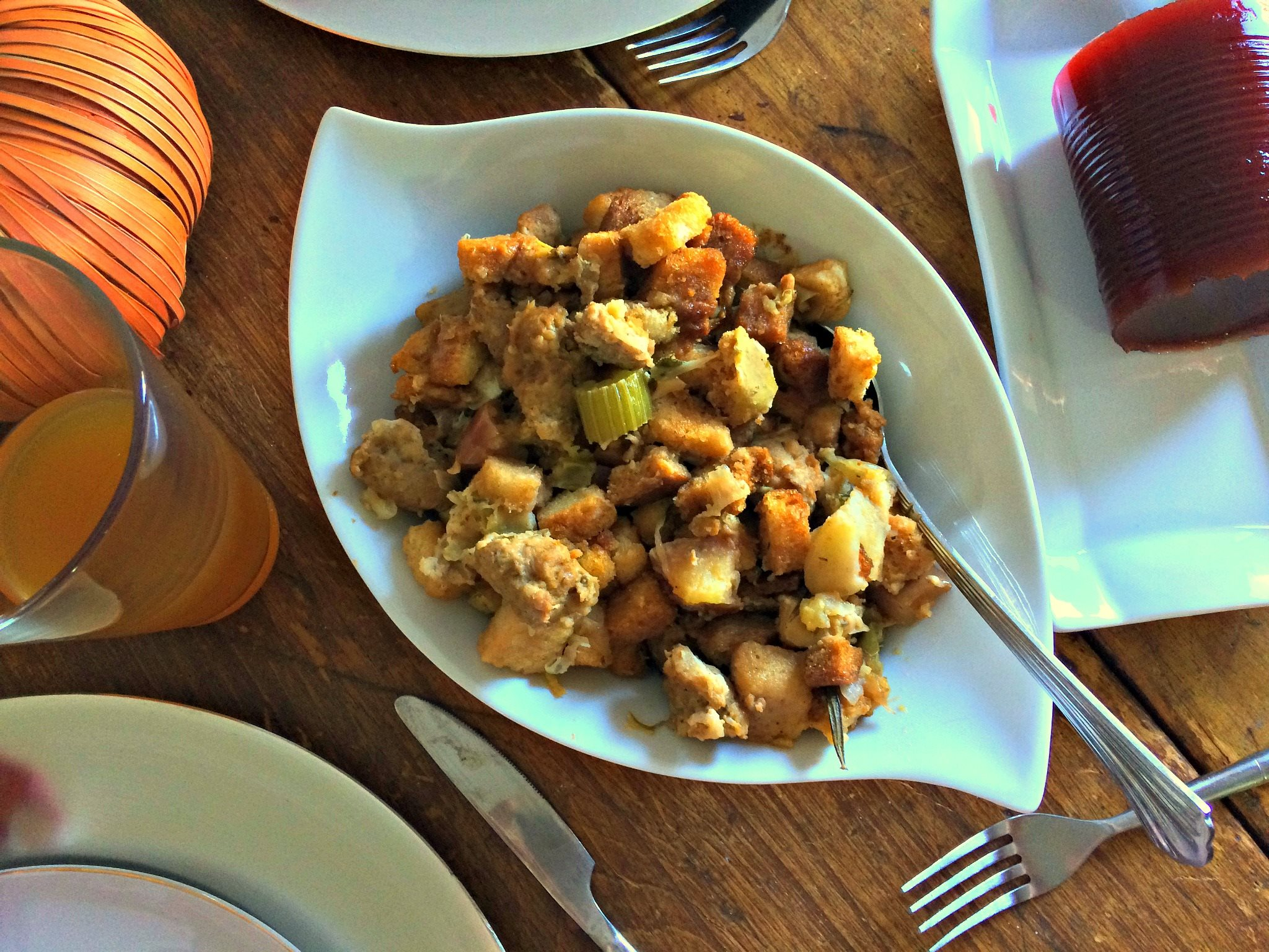 apple stuffing