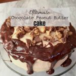 Ultimate Chocolate Peanut Butter Cake – 12 Days of Thanksgiving
