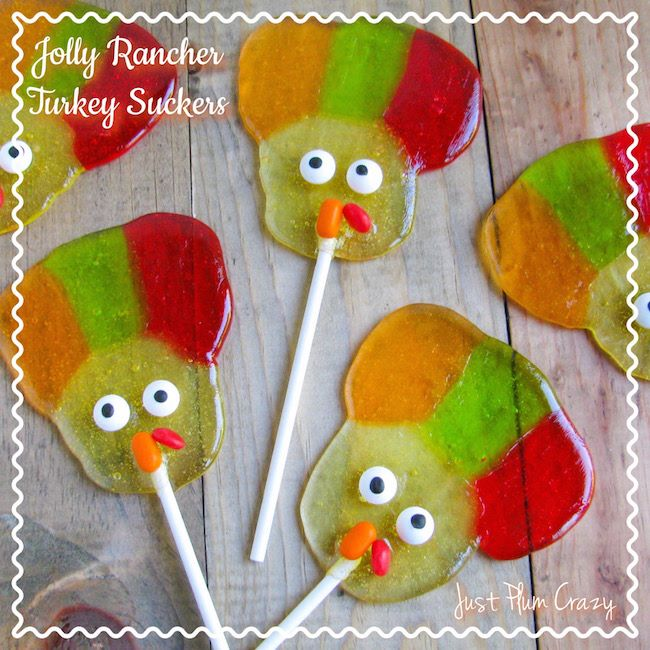 Jolly Rancher Turkey Suckers