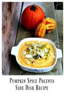 Pumpkin Polenta – 12 Days of Thanksgiving