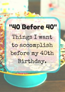 40 Before 40