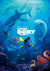 Finding Dory Coming to DVD & Blu-Ray on 11/15
