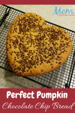 Perfect Pumpkin Chocolate Chip Bread – 12 Days of Thanksgiving