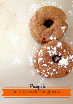 Pumpkin Butterscotch Doughnuts – 12 Days of Thanksgiving