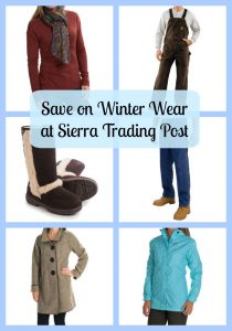 Save on Winter Wear at Sierra Trading Post #TrailTime