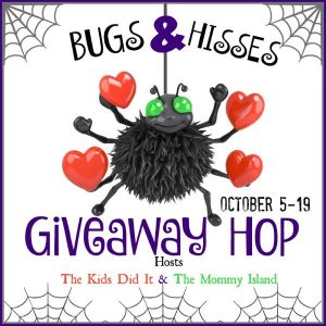$25 Amazon Gift Card Giveaway – Bugs & Hisses Giveaway Hop – Ends 10/19