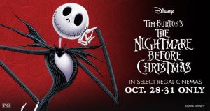 The Nightmare Before Christmas at Regal Theaters For a Limited Time