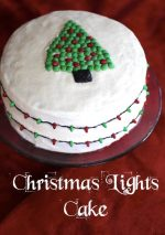 Christmas Lights Cake – #12DaysOf Christmas