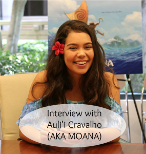 Moana Interview with Auli'i Cravalho # MOANA