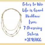 7 Charming Sisters Necklace Giveaway – #2016HGG Ends 12/9