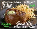 Kansas City Steaks Giveaway – Ends 12/14