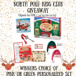 North Pole Kids Club Giveaway – Ends 11/27