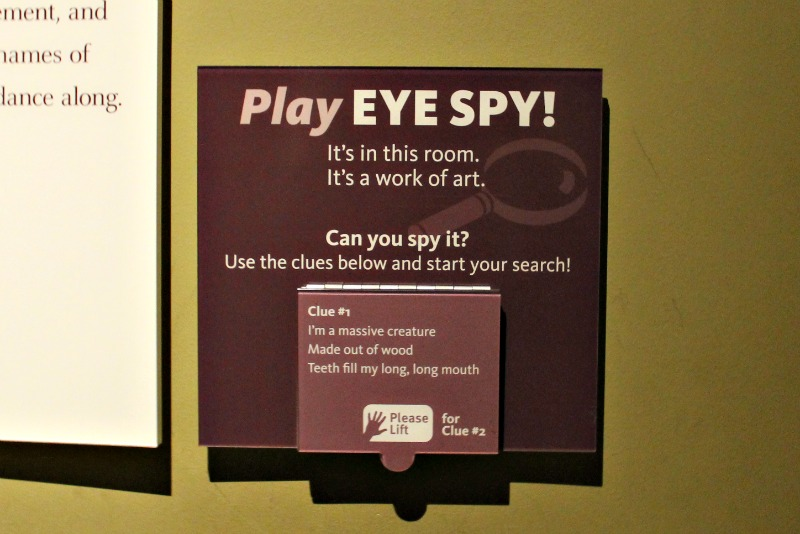 Play Eye Spy at the DIA