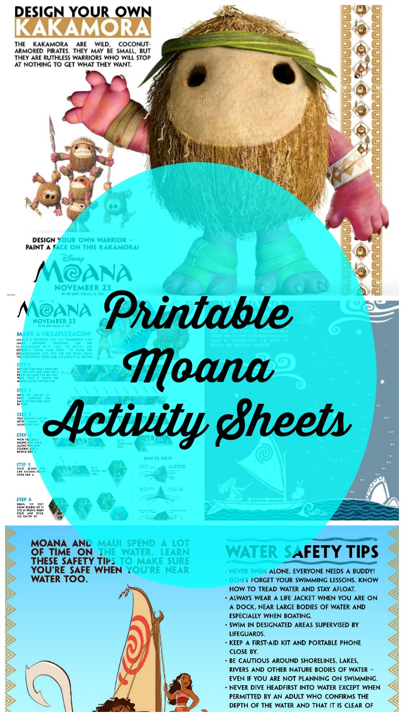photograph about Kakamora Printable called Fresh new MOANA Video game Sheets - #Moana Acquiring Sanity inside Our