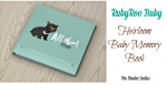 RubyRoo Baby Heirloom Baby Memory Book Giveaway – Ends 11/27