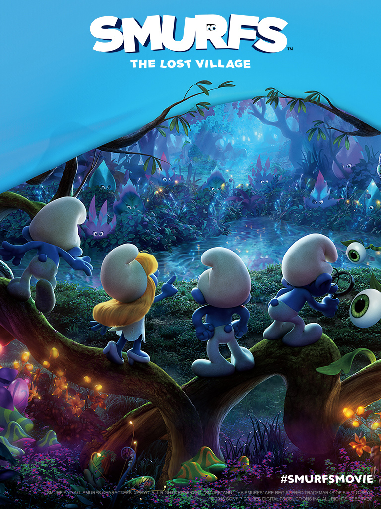 New Trailer For Smurfs The Lost Village Smurfsmovie