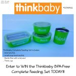 ThinkBaby Complete Feeding Set Giveaway #2016HGG – Ends 12/4
