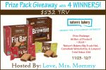 Nature's Bakery Giveaway – Ends 12/7