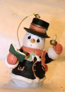 7th Annual Precious Moments Snowman Ornament