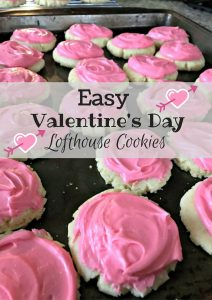 Easy Valentine's Day Lofthouse Cookies – #12DaysofValentines