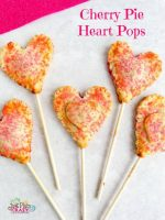 Cherry Pie Heart Pops – #12DaysofValentines
