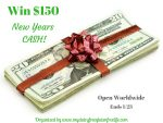 $150 New Years Cash Giveaway