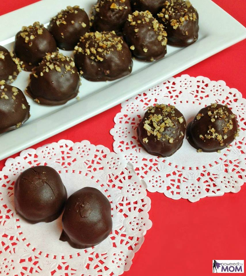 chocolate coconut bon bons