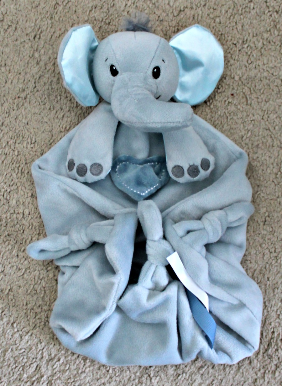 CuddleBright Elephant Lovie