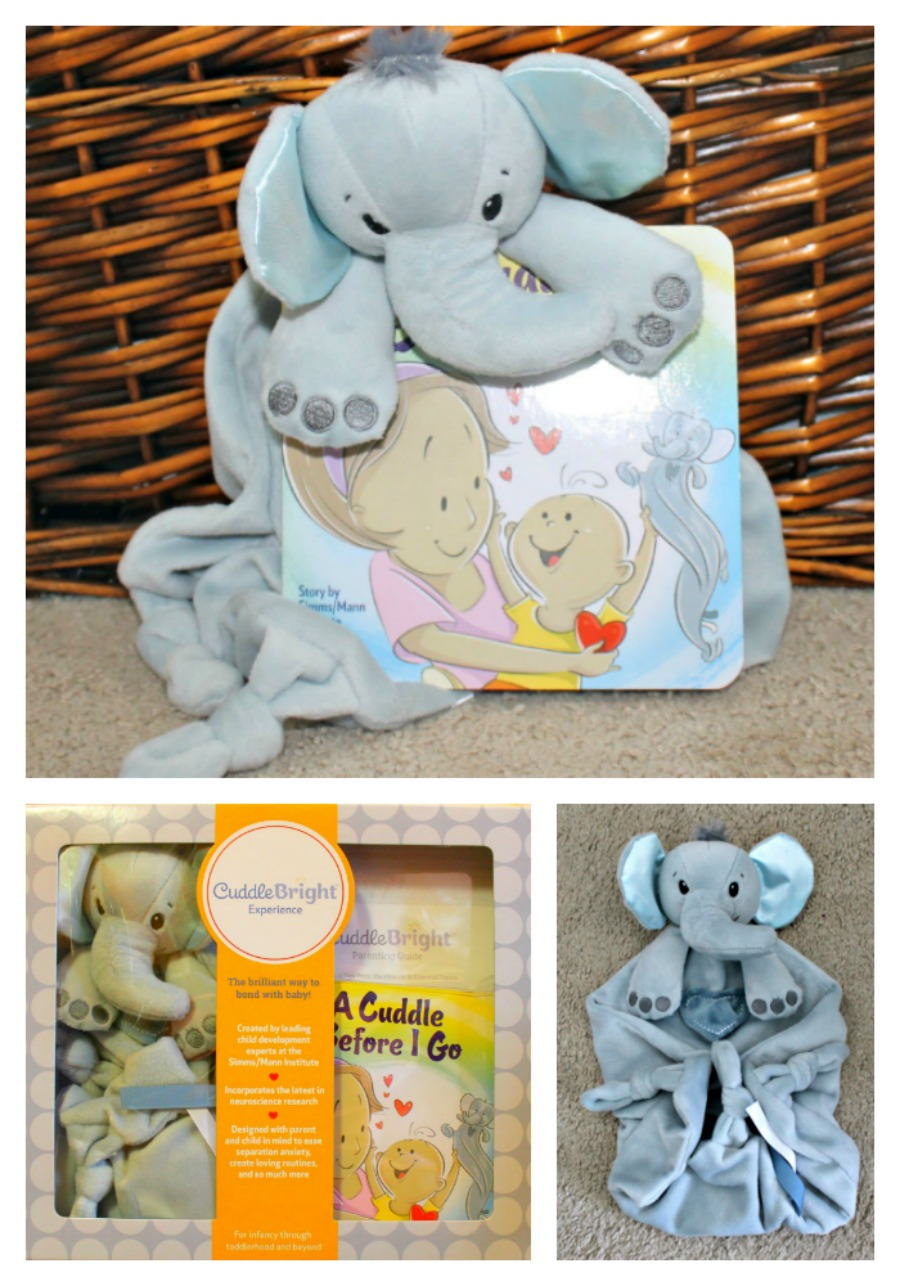 Elephant Lovie from CuddleBright Experience