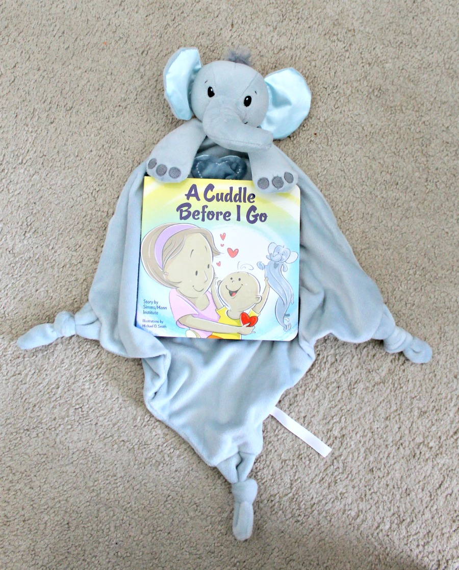 Elephant Lovie from CuddleBright