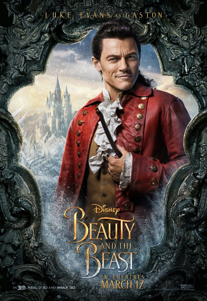 Gaston Character Poster