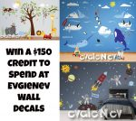 Evgie Wall Decal Giveaway – Ends 3/10 #WallDecals