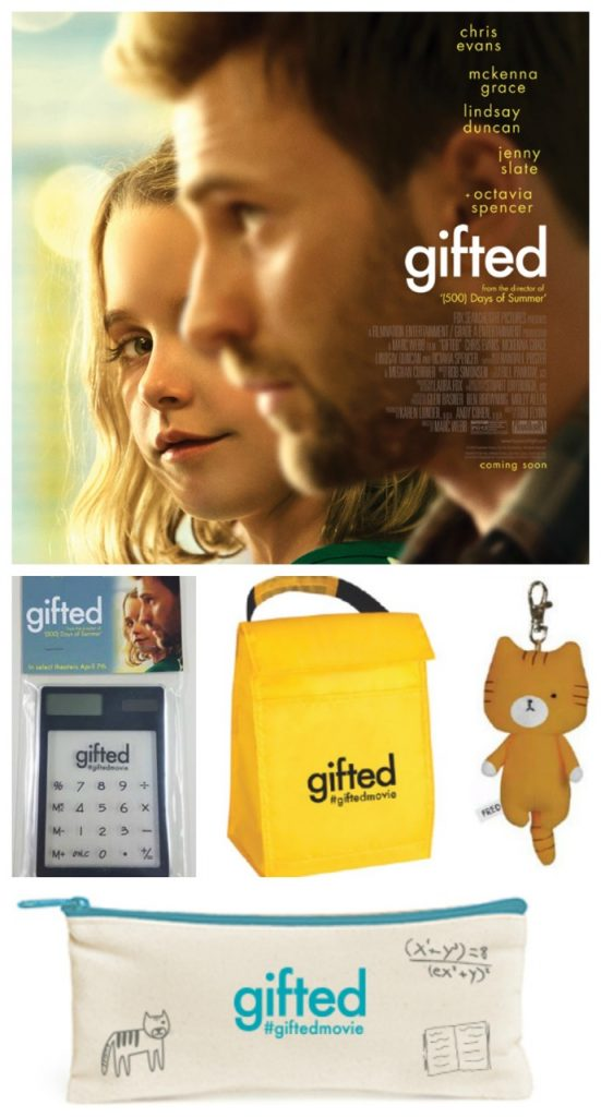 GIFTED Movie Swag