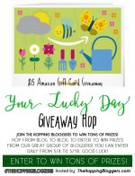 Amazon Gift Card Giveaway & Your Lucky Day Hop – #YourLuckyDay