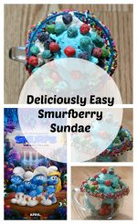 Smurfberry Sundae Recipe – #SmurfsMovie