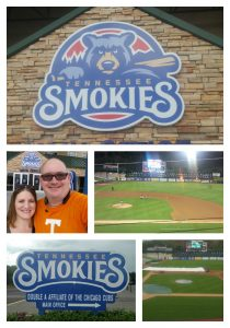 My First Smokies Baseball Game