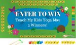 Fish and Learn Yoga Mat Giveaway – #YogaForKids