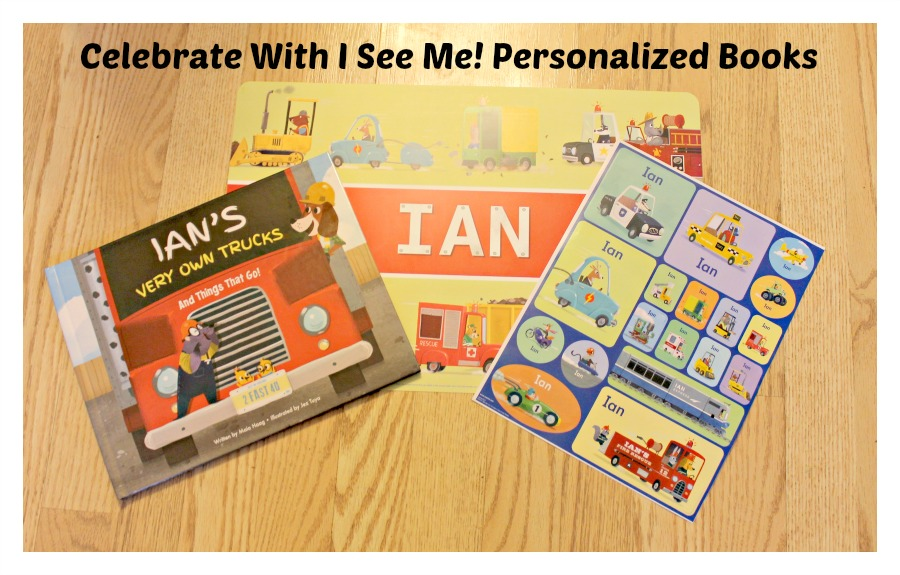 Personalized I See Me Books Set