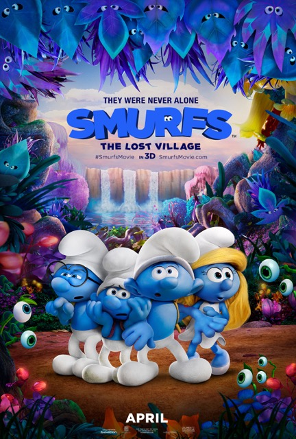 SMURFS THE LOST VILLAGE_ONE SHEET