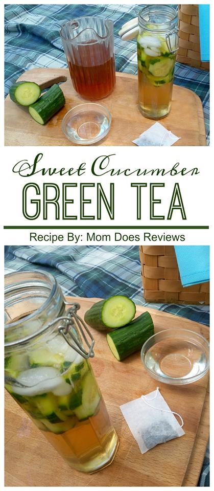Sweet Cucumber Green Tea 1