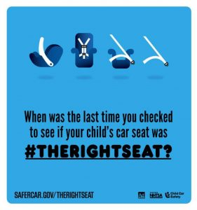 The Right Seat for Child Passenger Safety