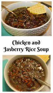 Chicken and Wild Jasberry Rice Soup