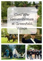 Civil War Remembrance at Greenfield Village