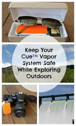 Keep Your Cue™ Vapor System Safe While Exploring Outdoors – #CueVapor #VapingMadeSimple